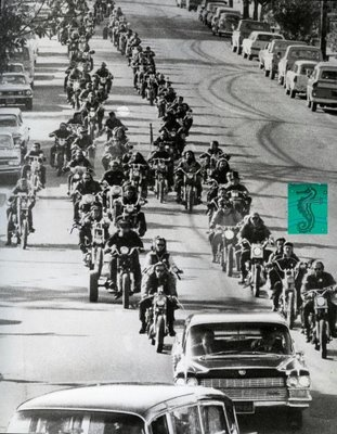 1968 Hells Angels Funeral Procession
