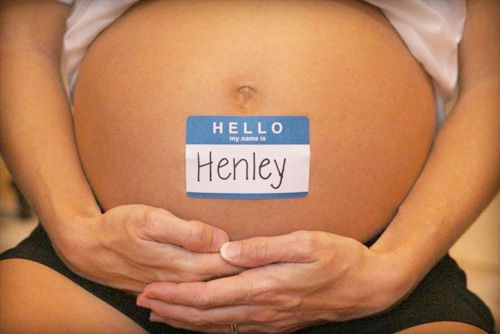 Creative pregnancy photos