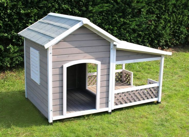 Hundehütte mit Terrasse FALCO_1