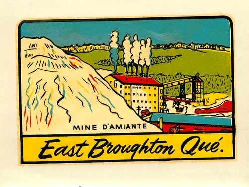 East Broughton QC Decal - 1981