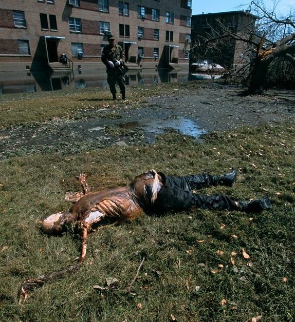 Victim of Hurricane Katrina. R.I.P.