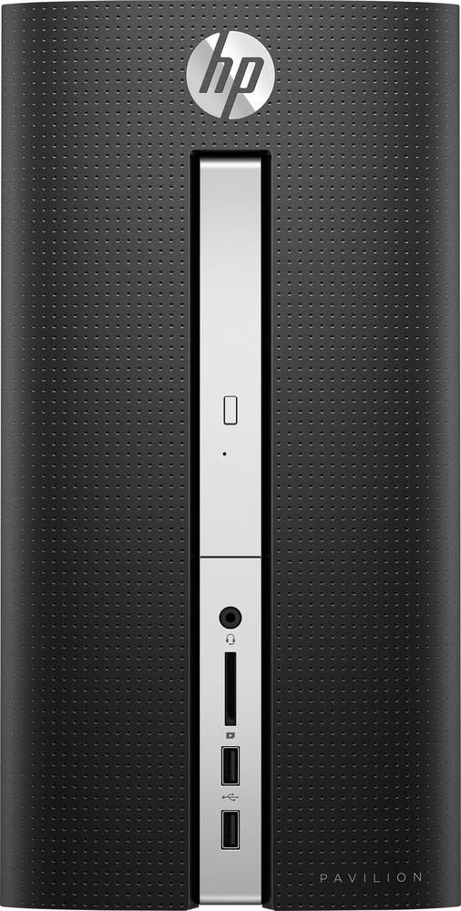 Just added to Desktop & All-in-One Computers on Best Buy : HP - Pavilion Desktop - AMD A10-Series - 8GB Memory - 1TB Hard Drive - HP finish in twinkle black