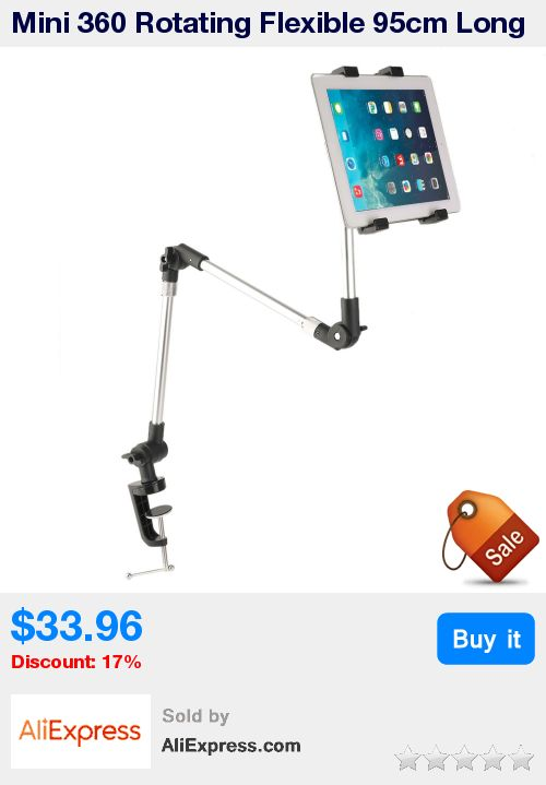 Mini 360 Rotating Flexible 95cm Long Arm Tablet PC Holder Mobile Phone Stand Lazy Bed Table Mount Bracket for iPad Air New * Pub Date: 08:12 Apr 12 2017