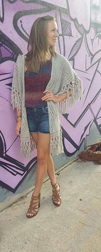 Crochet Cardigan Pattern. Sizes: S-5X. EZ Skill Level
