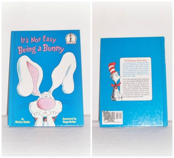 It's Not Easy Being a Bunny Beginner Books by SheCollectsICreate