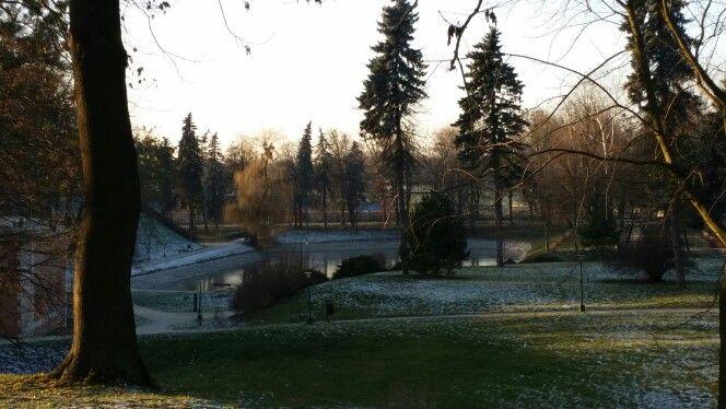 Park w Zamościu