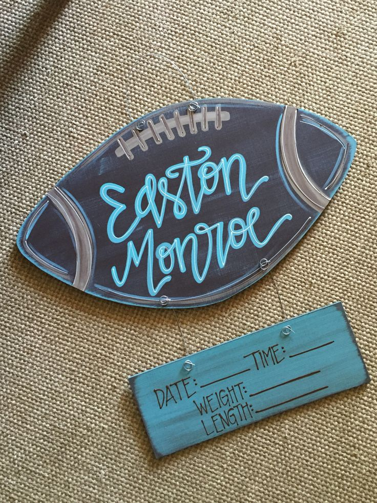 football hospital door hanger // fortheglorydesigns on etsy