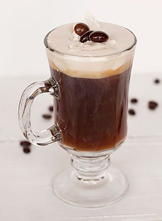 French coffee cocktail
