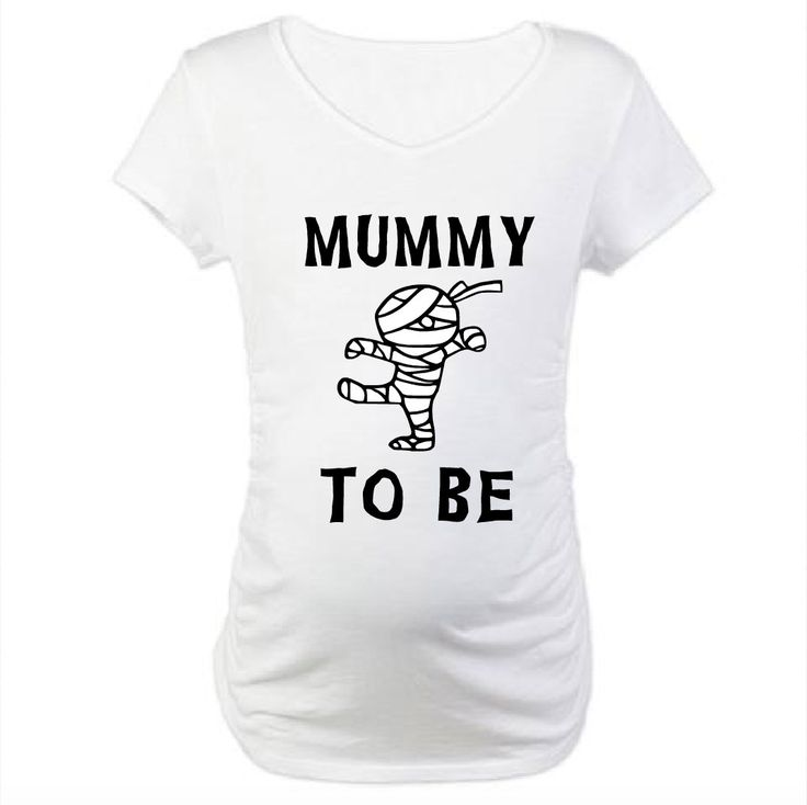 Mummy To Be Pregnancy Shirt. Halloween Pregnancy Shirt.