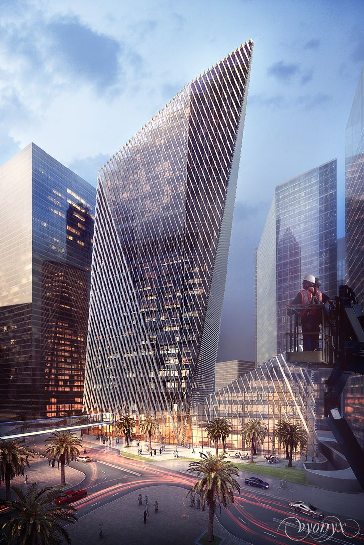 King Abdullah Financial District | Foster+Partners (Vyonyx) #architecture ☮k☮