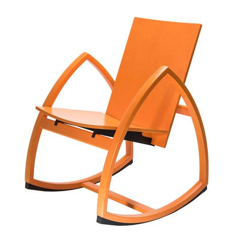 Rock For Peace - Rocking Chair number One - Orange