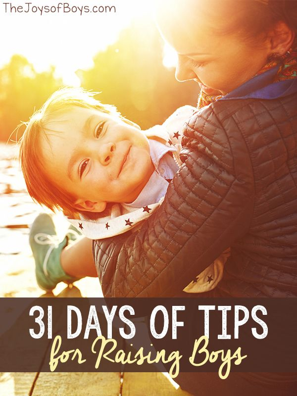 Read it 31 Days of Tips for Raising Boys: Kara from The Joys of Boys, shares her best parenting advice and practical tips for raising boys
