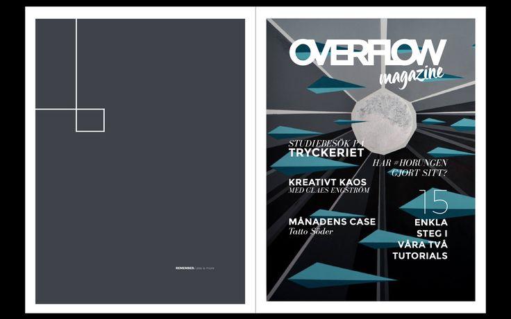 Design: Emma Ask Case: Magazine cover