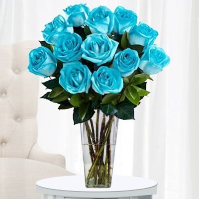 Beautiful Blue Roses but more teal. But still pretty  | followpics.co