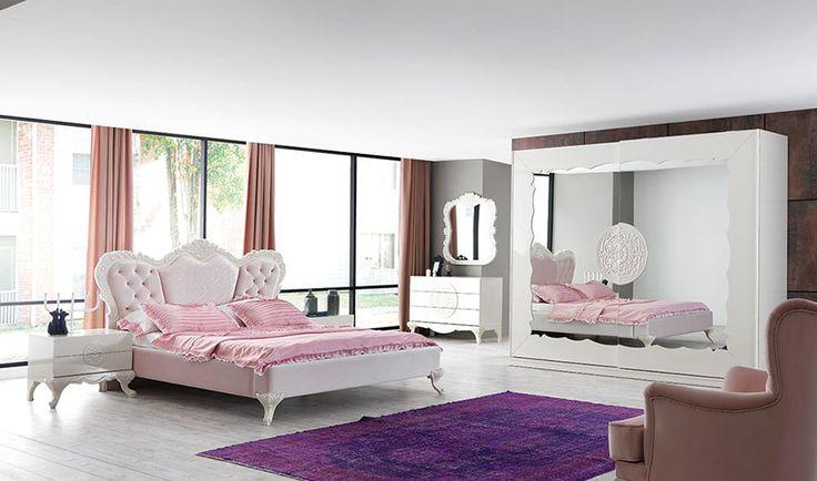 ELEGANCE İNCİ YATAK ODASI  Beyazın kusursuz güzelliğini evinize getiriyor http://www.yildizmobilya.com.tr/elegance-inci-yatak-odasi-pmu5728  #bed #bedroom #furniture #ihtisam #mobilya #home #ev #dekorasyon #kadın #ev #avangarde http://www.yildizmobilya.com.tr/