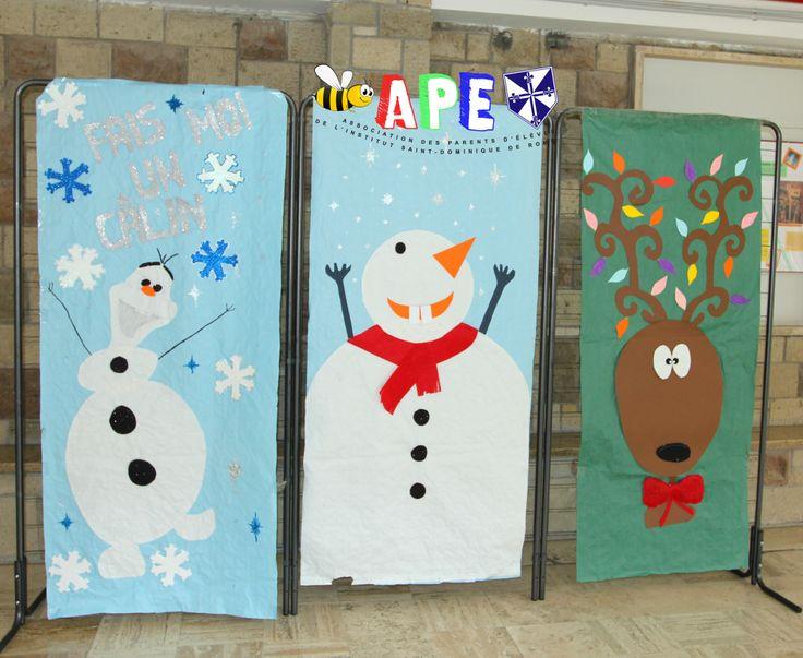 Plus de 25 id es uniques dans la cat gorie porte bonhomme for Decoration porte bonhomme de neige