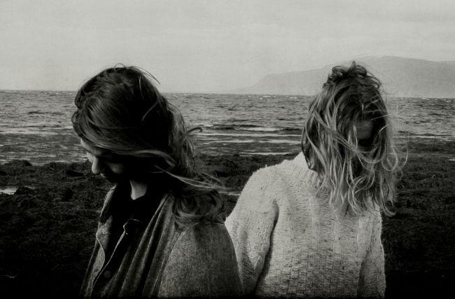 Twin sisters Ásthildur and Jófríður from Pascal Pinon.
