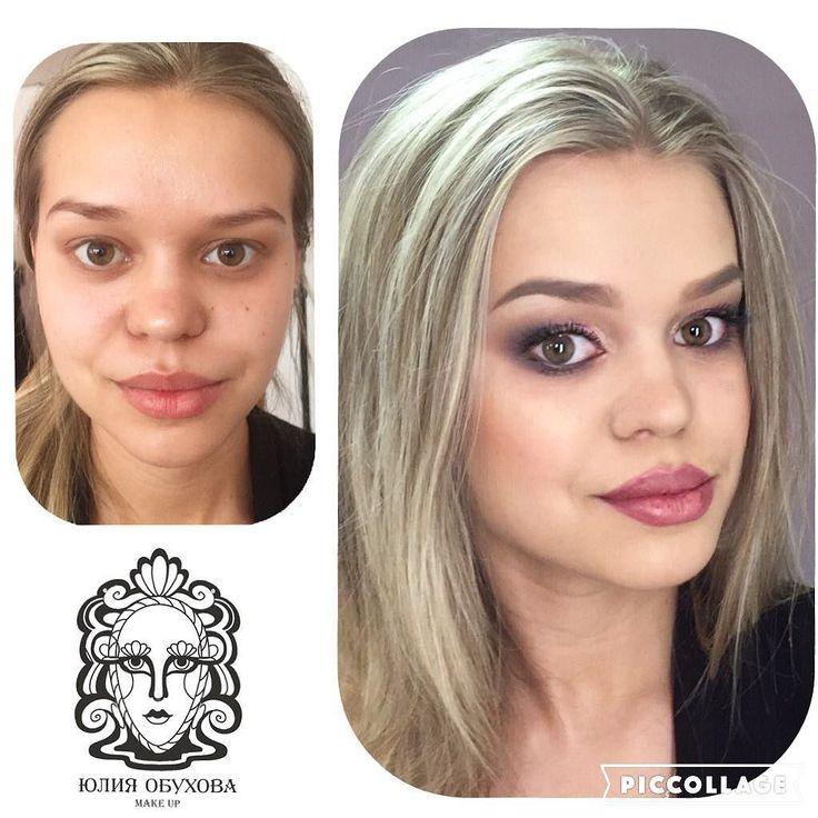 С ученицей Екатериной осваивали гелевую технику! С таким макияжем никакой дождь и снег не страшен. Выдерживает и подводную съемку!  #makeupschool #obukhovamakeup #школамакияжа #обучениемакияжу #макияж