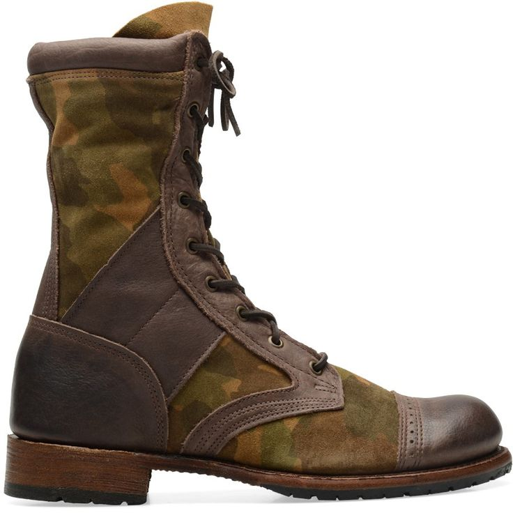 Walk-Over Mens Axel in Camo Combo