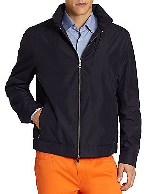 Saks Fifth Avenue Collection Golf Jacket