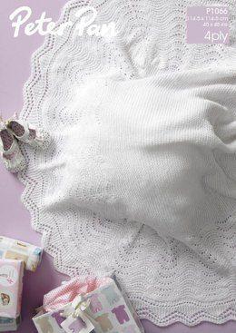 Blanket in Peter Pan 4 Ply (P1066)
