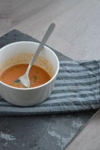 Tomaten Kokos & Kikkererwten Soep