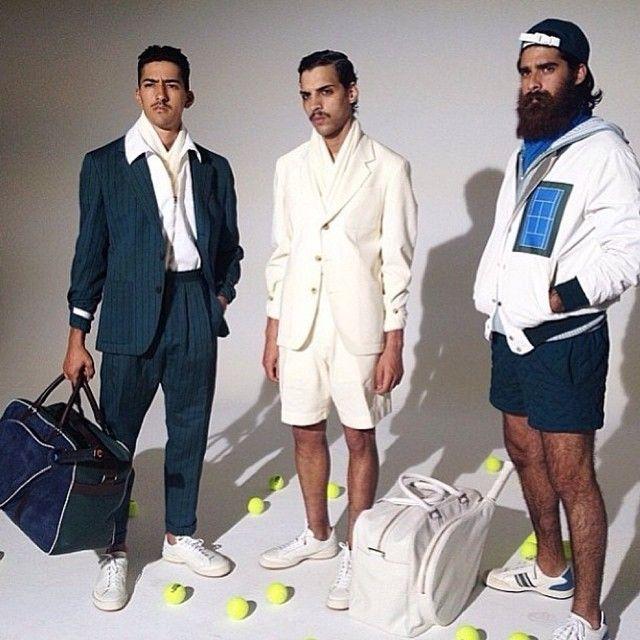 """Tennis Club de Cartagena"" koleksiyonuyla aramıza hoş geldin Umit Benan! / We are welcoming Umit Benan with his ""Tennis Club de Cartagena"" collection! #shopigo #shopigono17 #umitbenan #tennis #court #cartagena #pabloescobar #ss15 #collection #exclusive #brandnew #menswear #sportswear #shopnow #shoponline"