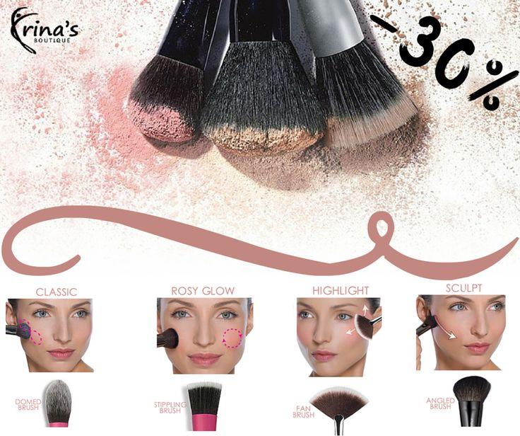 Vrei sa fii propriul make-up artist? Primul pas: alege pensule de calitate pentru un machiaj precis si usor de aplicat.   In perioada 1-31 Iulie te bucuri de -30% DISCOUNT la toate accesoriile si produsele de make-up PRESTIGE Cosmetics!  #irinasboutique #prestigecosmetics #machiaj #beauty