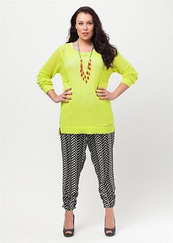 #Virtu Becky Pullover #plussize #curvy