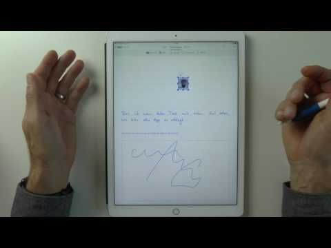 Papierloses Büro: Die beste App für handschriftliche Notizen auf dem iPad - GoodNotes oder MyScript Nebo? - Lars Bobach