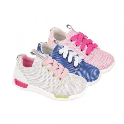 Zapatillas deportivas de estilo clásico para niñas de Bubble Bobble. Ahora comprar calzado infantil online es mucho más fácil y cómodo.