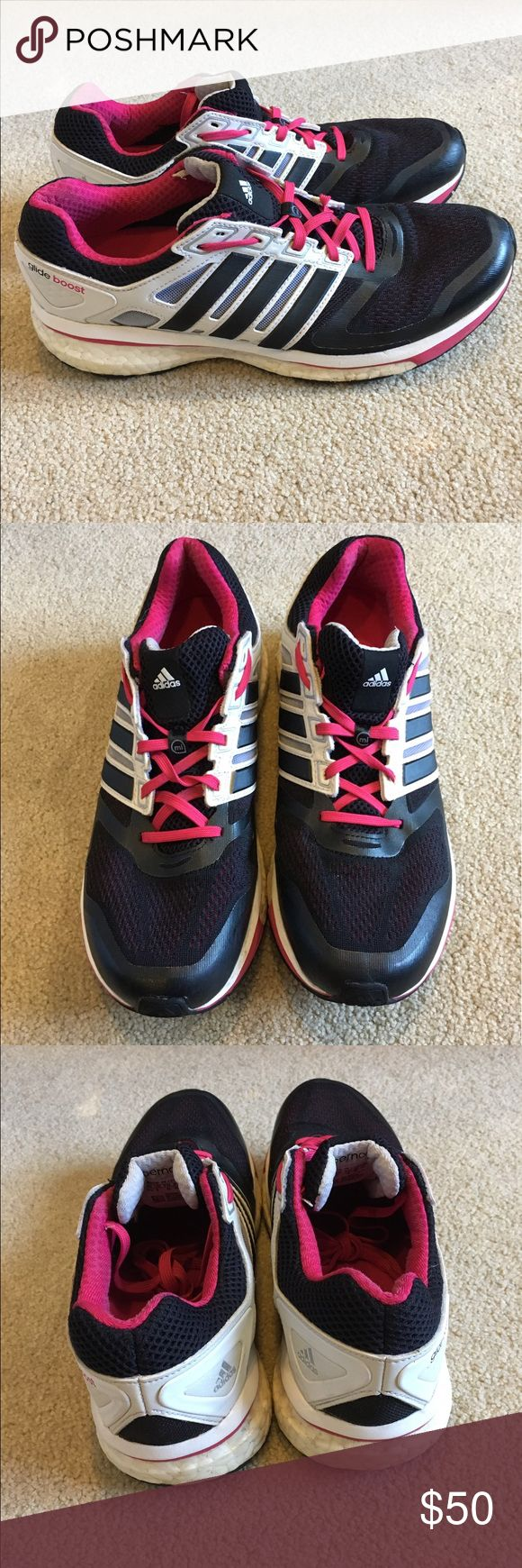 Adidas Glide Boost. (Women's 9.5) Adidas Glide Boost. Women's 9.5. Super comfortable pair of shoes. Overall great condition and has plenty of life left. adidas Shoes Sneakers