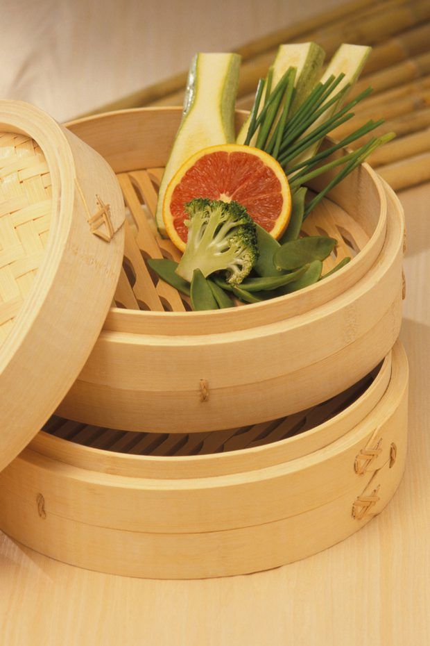 Cómo limpiar una vaporera de bambú