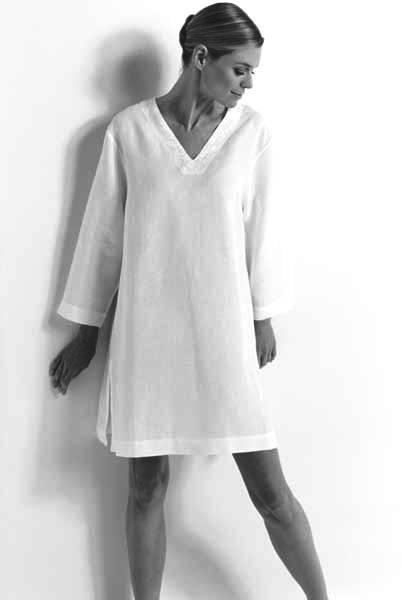 Ночная рубашка из льна купить