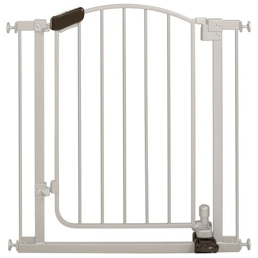 Summer Infant® Walk Thru Step-to-Open Baby Gate (Silver) : Target