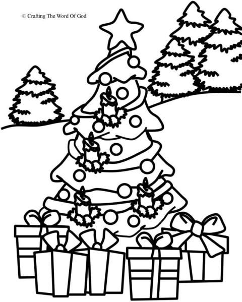 50 best Christmas Crafts images on Pinterest Christmas decoration - new christmas tree xmas coloring pages