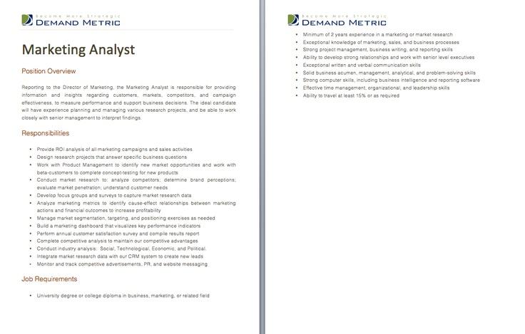 email marketing manager job description
