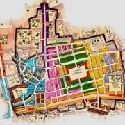Map of the Grand Bazaar in Istanbul - I hope to not get lost in it