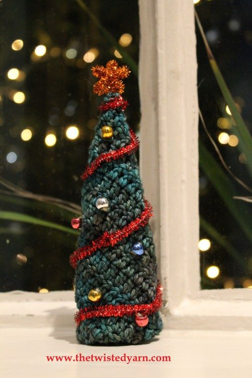 401 besten CROCHET CHRISTMAS TREES Bilder auf Pinterest | Urlaub ...