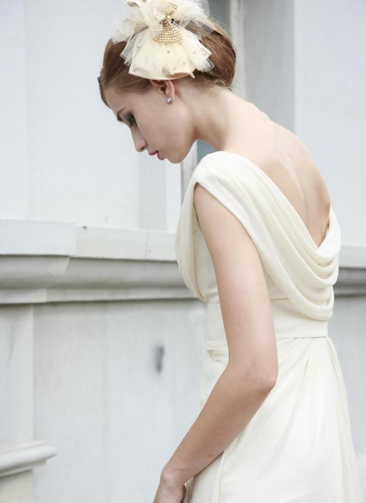 71 best images about wedding dresses on pinterest for Cowl neck wedding dress pattern