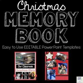 Are you looking to give your students a special little gift this Christmas? Are you running out of ideas and energy during the last few weeks before the holiday vacation? Look no further! This Christmas Memory Book is here to help save the day!