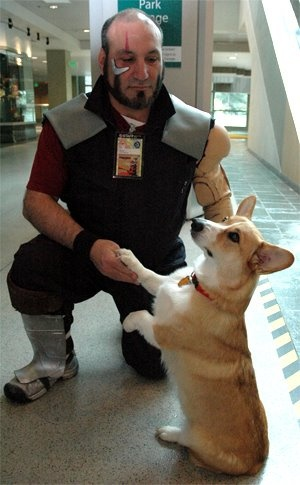 Jet Black and Ein - Cowboy Bebop Cosplay! Awesome!!