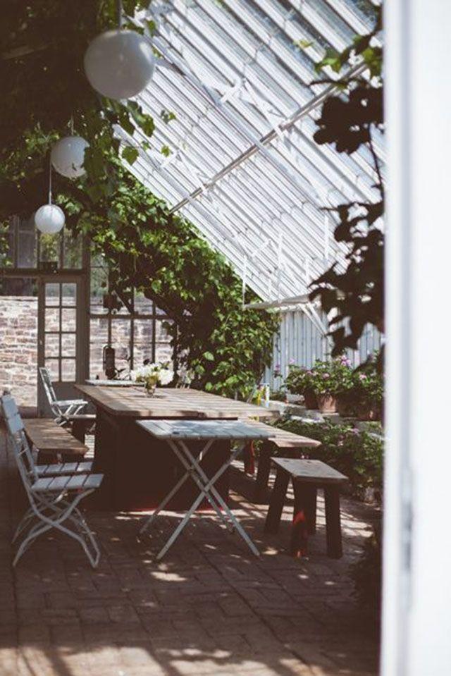 11 orangerier som förvandlats till ljuvliga sällskapsrum - Sköna hem