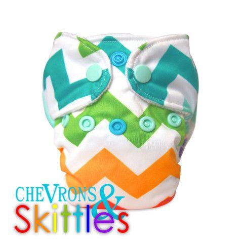 Nuggles!™ Bittees Stay-dry Newborn AIO Diaper