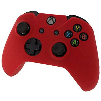 Reytid® Xbox ONE Controller Skin Silicone Protective Rubber Cover Gel Grip Case - Microsoft Xbox 1 Gamepad (Red)