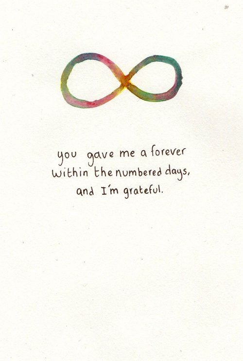 Infinity Quotes Enchanting Best 25 Infinity Quotes Ideas On Pinterest  Fault In Our Stars