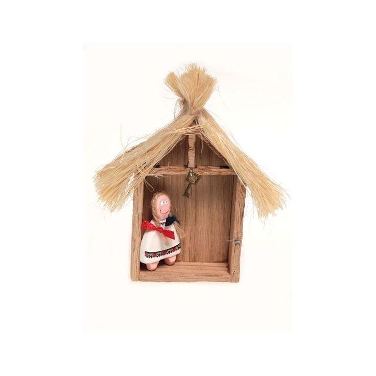 Farm Girl in Wooden Shed Magnet