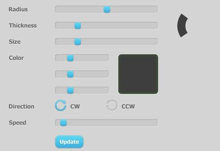 3.css3 jquery loading animations and progress bars