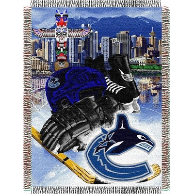 Northwest Co. NHL Tapestry Throw - Vancouver Canucks