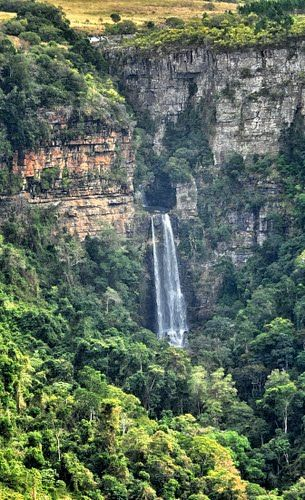 Fraser Falls, Transkei, South Africa By Nigel Bateson
